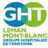 logo GHT Léman Mont Blanc, Haute Savoie.