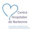 logo CH de Narbonne dans l'Aude région Occitanie